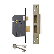 Yale 76mm Chrome effect Metal 5 lever Sashlock