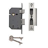 Yale 64mm Chrome effect Metal 5 lever Sashlock