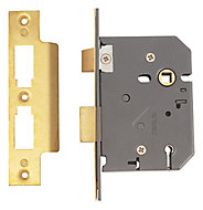 Yale 76mm Polished Brass 5 lever Sashlock