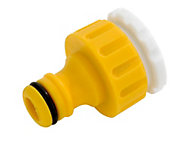 Hozelock Yellow Tap connector (W)100mm