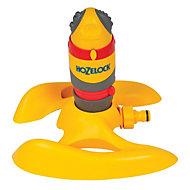 Hozelock Grey, red & yellow Rotating gear drive sprinkler
