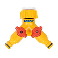 Hozelock Yellow Tap connector (W)139mm