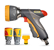 Hozelock Grey Metal spray gun starter set