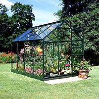 6x8 Horticultural glass Apex Greenhouse