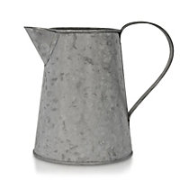 Grey Matt Metal Metal jug