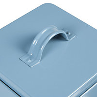 Blue Gloss Tin Storage tins