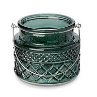 Small Tea light holder Green