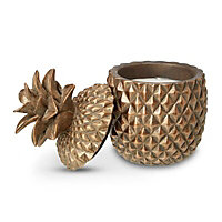 Pineapple Unscented Filled candle Medium