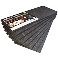 Jablite Premium Polystyrene Insulation board (L)1.2m (W)0.45m (T)25mm, Pack of 8