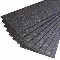 Jablite Premium Polystyrene Insulation board (L)1.2m (W)0.45m (T)25mm, Pack of 8