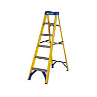 Werner 6 tread Fibreglass Step Ladder (H)1.67m