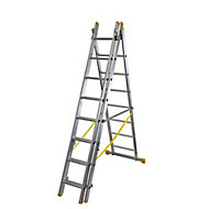 Werner ExtensionPLUS™ X4 23 tread Combination Ladder