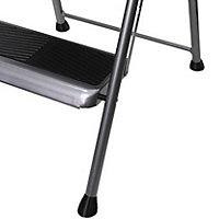 Abru 2 tread Steel Big step step stool, 1.11m