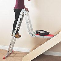 Abru Multi-purpose 12-Way 12 tread Combination ladder