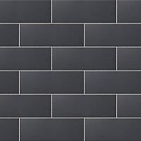 City chic Anthracite Matt Stone effect Ceramic Wall tile, (L)400mm (W)150mm, Sample