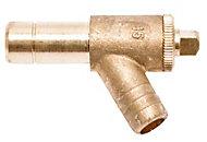 Polyplumb Push fit Drain off (Dia)15mm