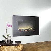 Dimplex SP9 Black Glass effect Electric fire