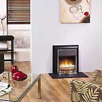 Dimplex Detroit Black Chrome effect Electric fire