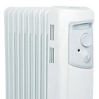 Dimplex Electric 2000W White Oil-filled radiator