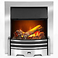 Dimplex Opti-myst Chrome effect Electric Fire