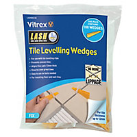 Vitrex LASHWD100 Plastic 155mm Tile levelling spacer, Pack of 100