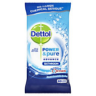 Dettol Bathroom Cleaning wipes, pack of 80