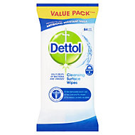 Dettol Surface Cleaning wipes, pack of 84