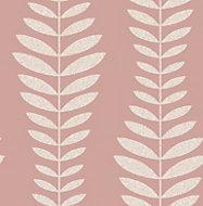 Fine décor Hampten Blush Floral Wallpaper
