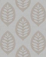Fine décor Ashbury Grey Floral Glitter effect Wallpaper