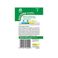 Suttons Cucumber Seeds, Telegraph Improved Mix