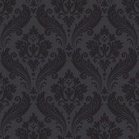 Graham & Brown Kelly hoppen Black Wallpaper