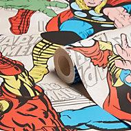 Graham & Brown Marvel Superheroes Multicolour Smooth Wallpaper