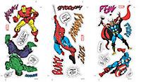 Marvel Comics Multicolour Self-adhesive Wall sticker (L)340mm (W)510mm