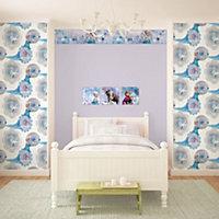 Disney Disney Frozen Blue & purple Elsa Mica effect Wallpaper