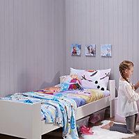 Disney Frozen Blue & purple Canvas art (H)600mm (W)200mm