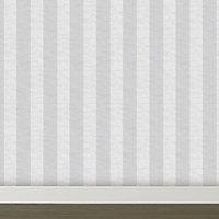 Graham & Brown Lucinda Grey Striped Glitter effect Wallpaper