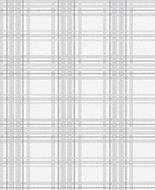 Superfresco Easy Country Grey Tartan Metallic effect Wallpaper