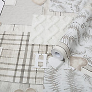 Graham & Brown Superfresco Easy Grey Home Metallic effect Smooth Wallpaper