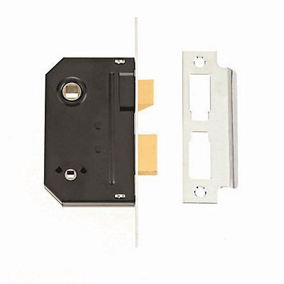 5011802206458 Skip20a Bathroom Lock 2 5 Chrome Finish Diy At B Q
