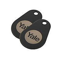 Yale P-YD-01-CON-RFIDT-BL Intruder alarm tag, Pack of 2