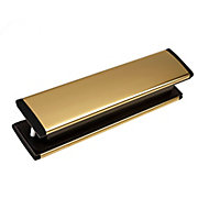 Yale Gold effect Metal Letter plate