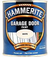 Hammerite White Gloss Garage door paint, 0.75L