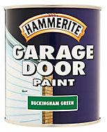 Hammerite Buckingham green High gloss Garage door paint, 0.75L