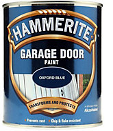 Hammerite Oxford blue High sheen Garage door paint, 0.75L