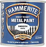 Hammerite White Gloss Metal paint, 0.25L