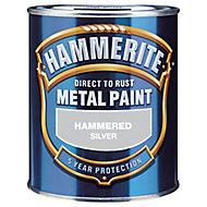 Hammerite Hammered effect Metal paint, 0.75L