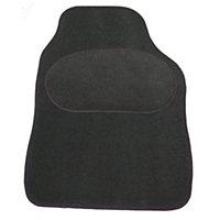 Sakura Universal Dark grey Car mat, Set of 4