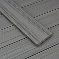 Trex® Chateau grey Composite Deck board (T)24mm (W)140mm (L)2400mm, Pack of 4