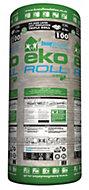 Knauf Eko Roll Loft insulation roll, (L)7.28m (W)1.14 m (T)100mm