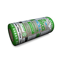 Knauf Eko Roll Loft insulation roll, (L)5.68m (W)1.14m (T)170mm
